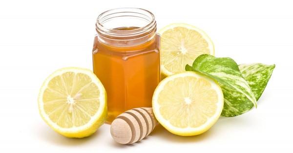 uống chanh kết hợp mật ong giảm cân sau sinh