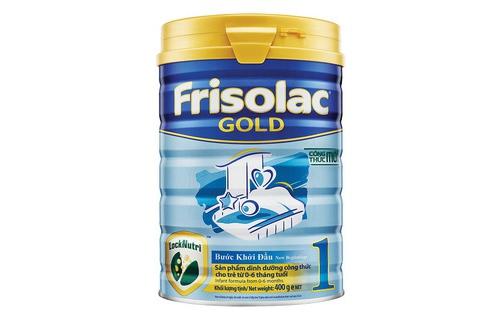 Sữa frisolac gold 1 giúp bé phát triển khỏe mạnh