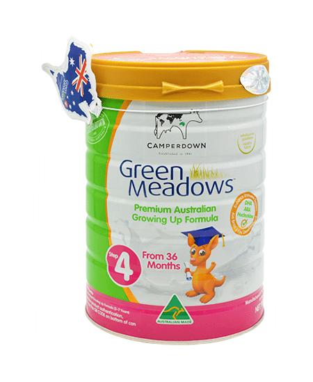 sữa tăng cân cho bé Green Meadows