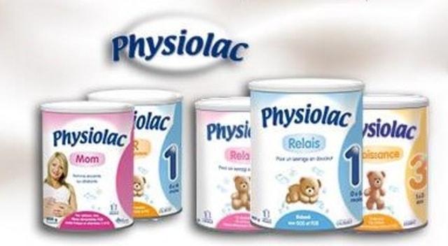 sữa tăng cân cho bé Physiolac