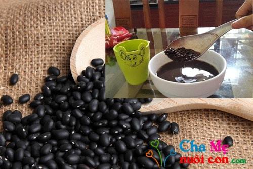 cách giảm cân hiệu quả tại nhà bằng đậu đen