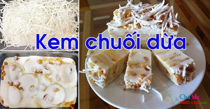 Cách làm kem chuôi dừa tại nhà
